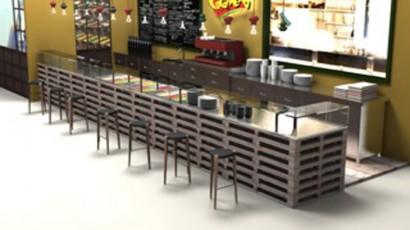 1. Bancone bar